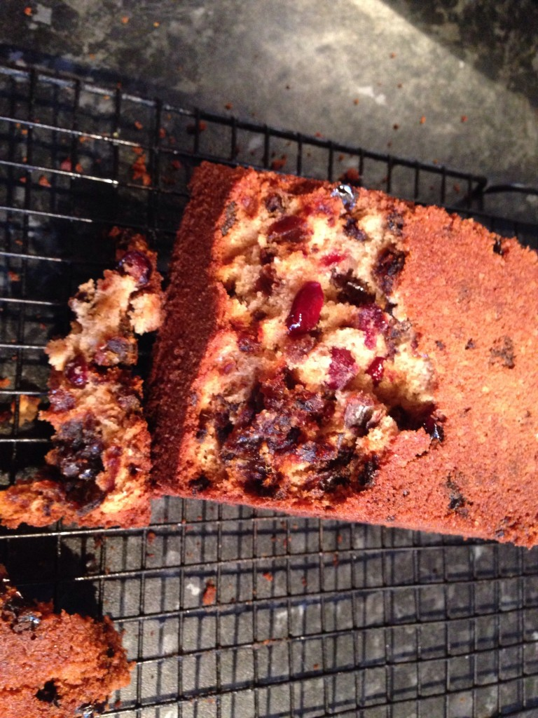 Date and Cranberry Cake