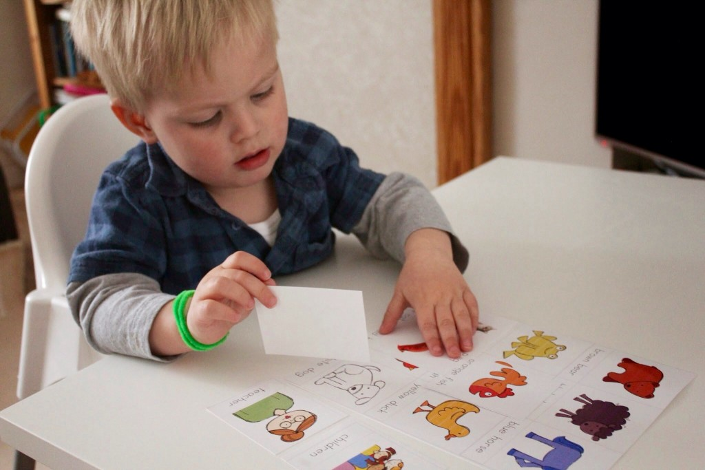 Bedtime stories – Brown Bear, Brown Bear, What do you See?
