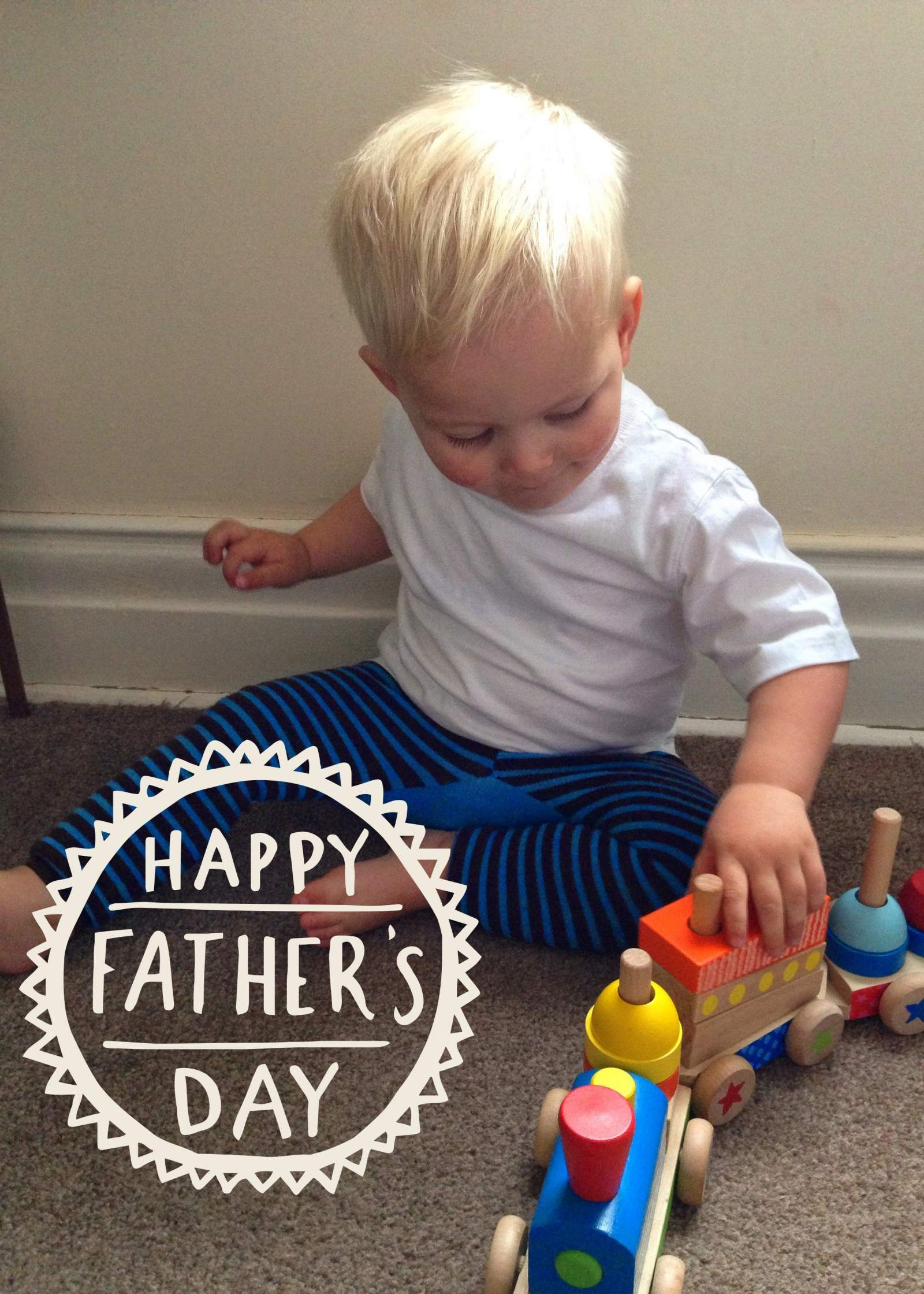 Father's Day – easy gift from a toddler