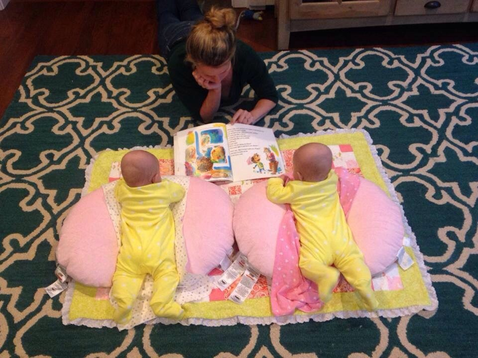 Reading to babies – guest post by Danielle Lowe