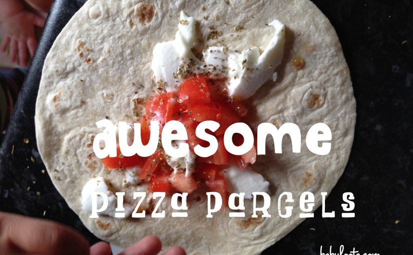 Pizza parcels - perfect for a sandwich-free lunch