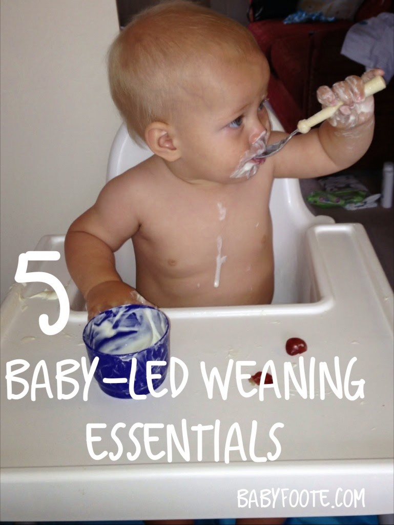 5 Essentials for Baby Led Weaning
