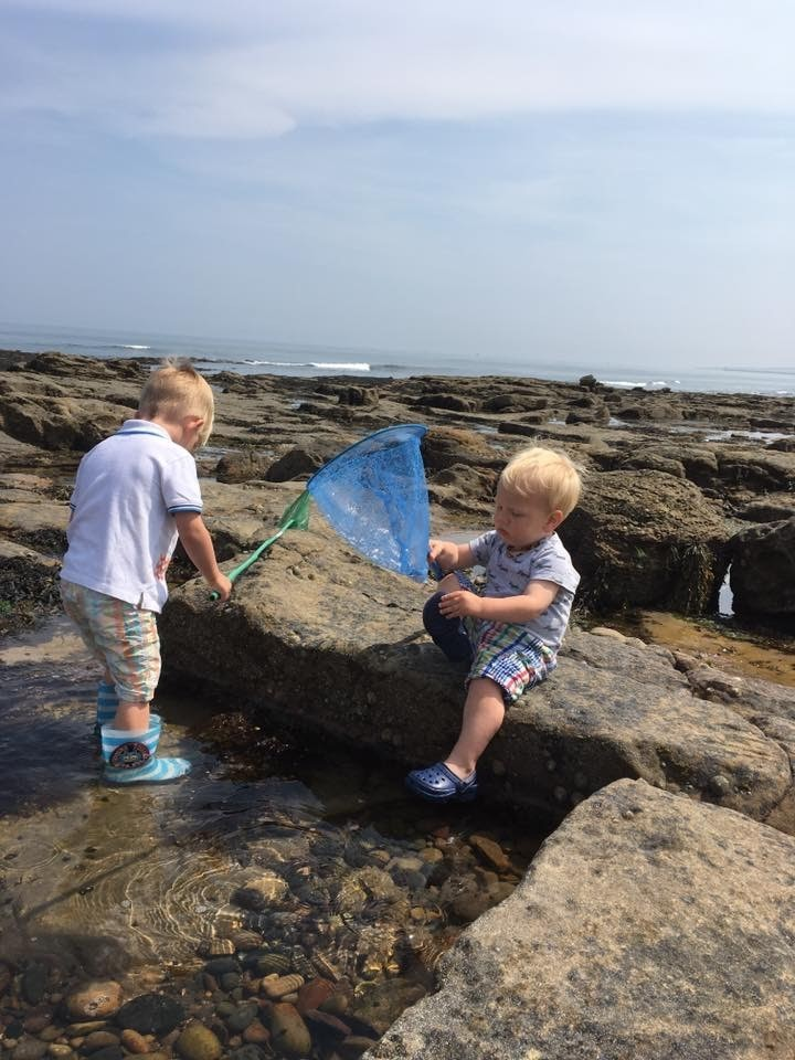 Rock pooling is a fascinating and fun free day out for all the family. Toddlers will love peeking in the water and catching crabs or fish!