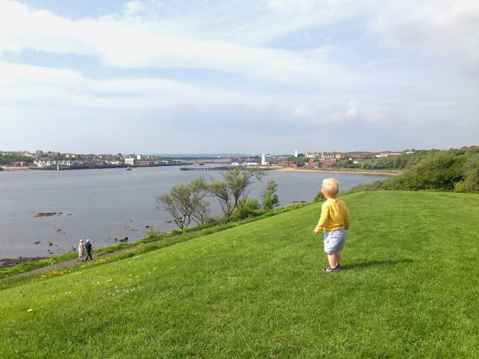 Going for a walk is a great way to spend a day with a toddler, and best of all it's free!