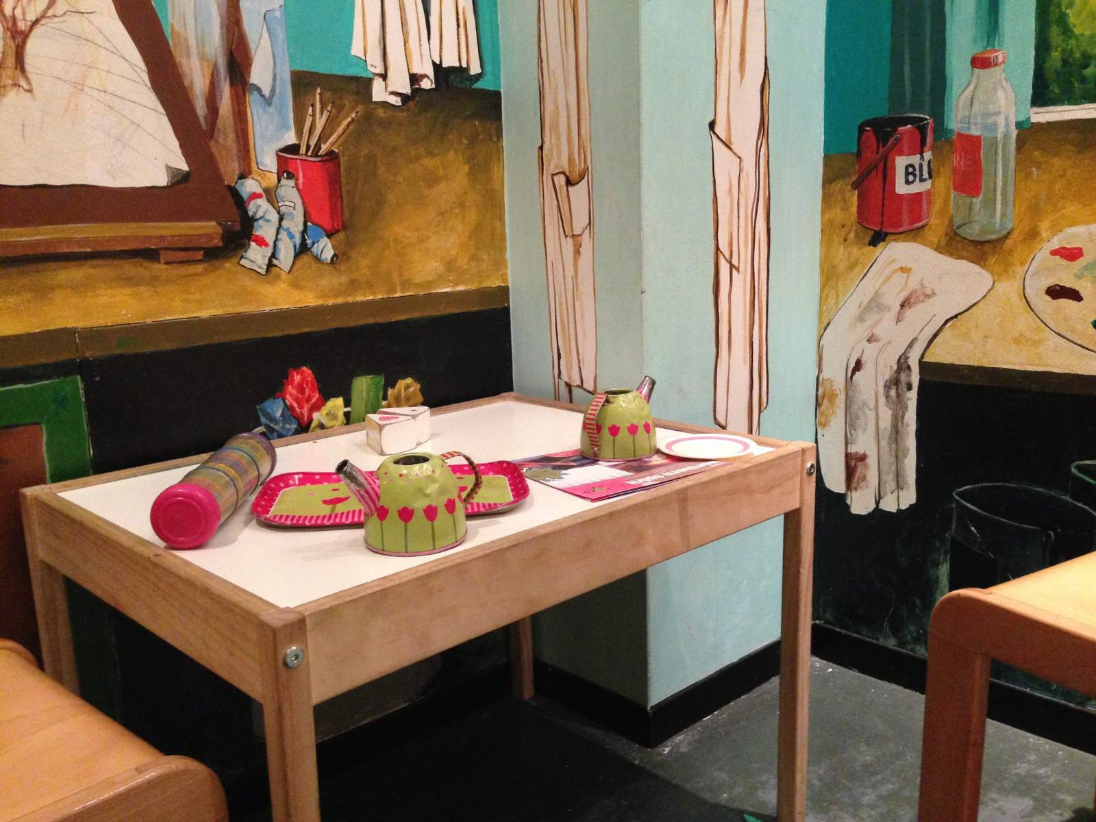 laing art gallery under 5s area