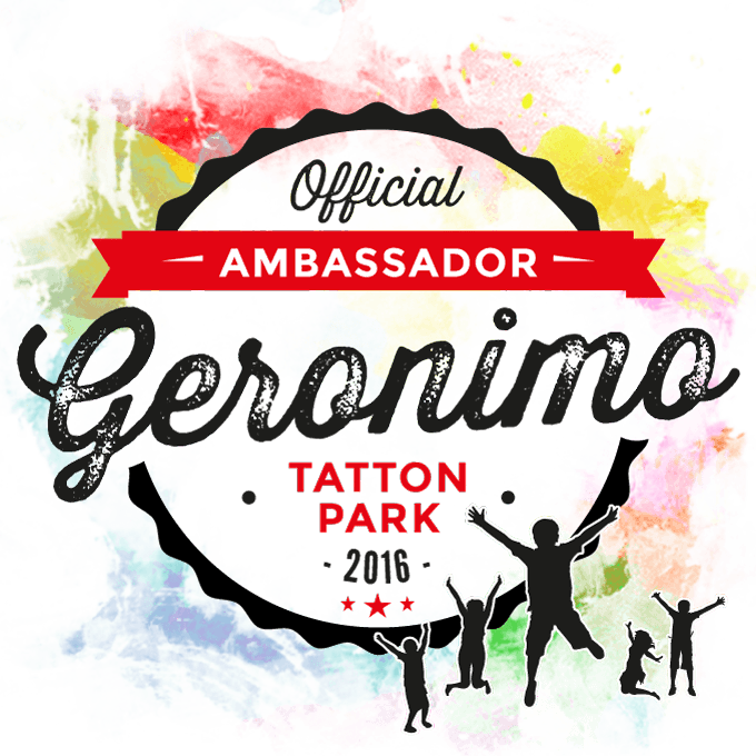 geronimo tatton park ambassador badge