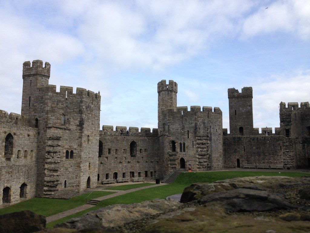 caernarvon castle is a stunning place in north wales for an adventure