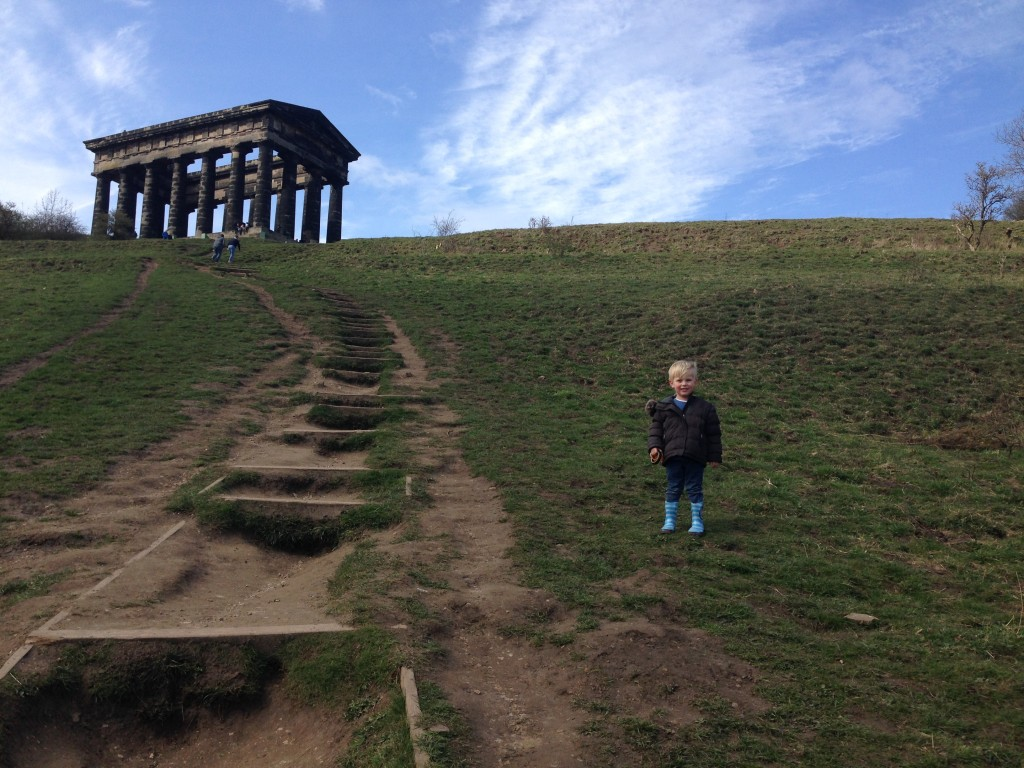 Penshaw monument national trust in Sunderland