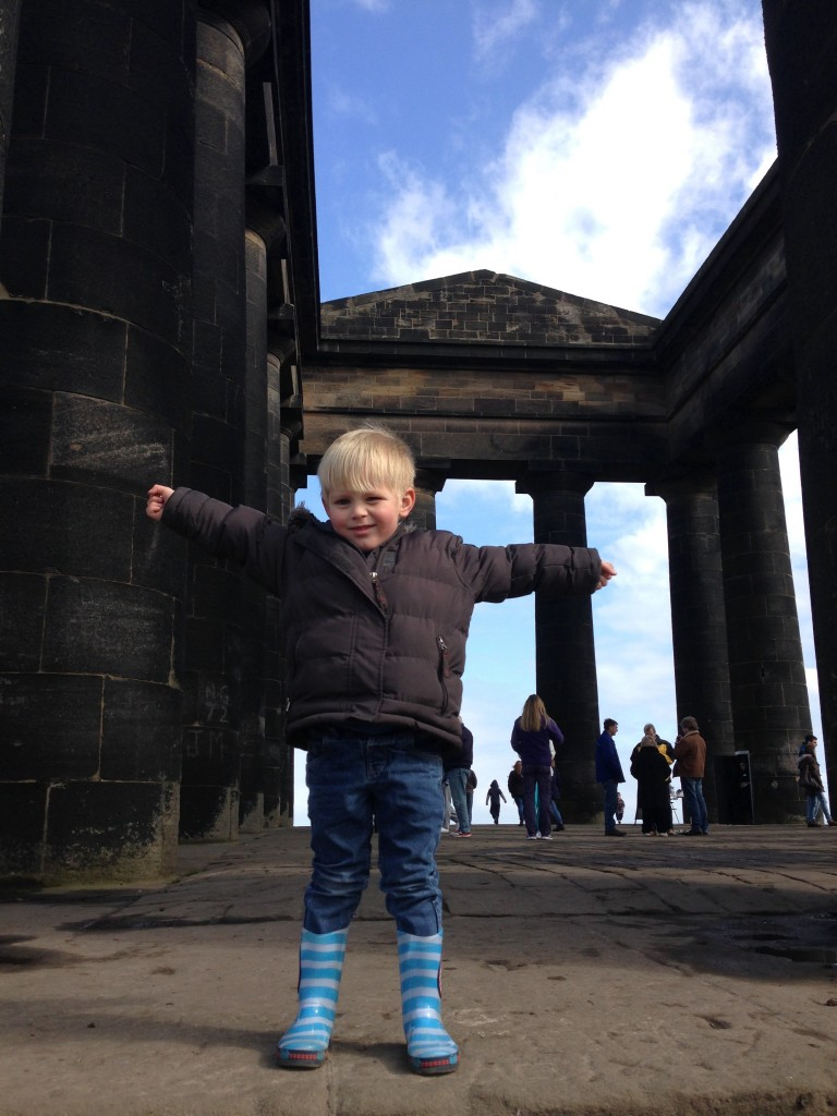 Penshaw monument in Sunderland