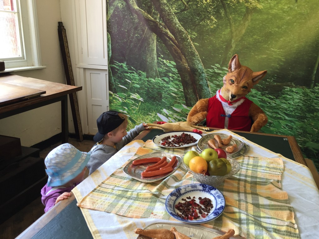 Fantastic mr fox feast at Tatton park farm Roald Dahl centenary celebrations