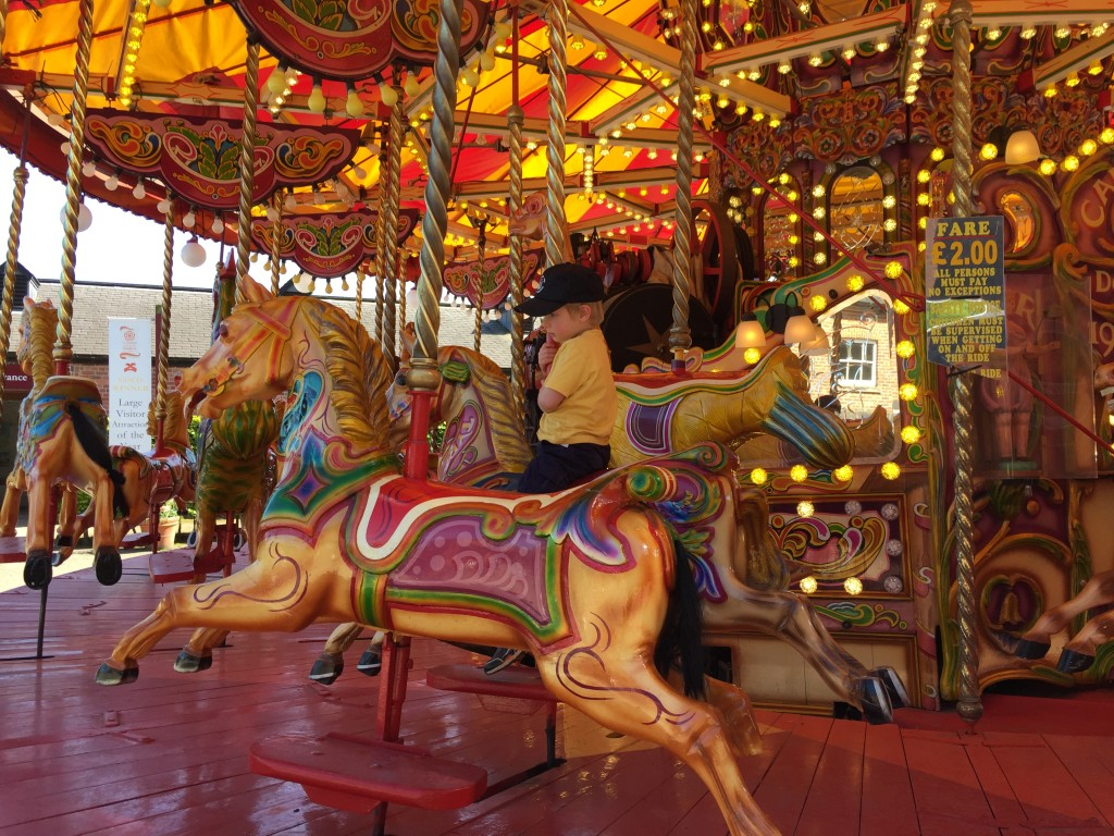Carousel at Tatton park traditional farm fantastic mr fox Roald Dahl centenary celebrations Review