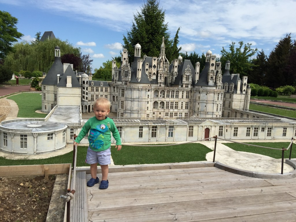 Parc mini châteaux in the Loire valley is a great way spend half a day with children