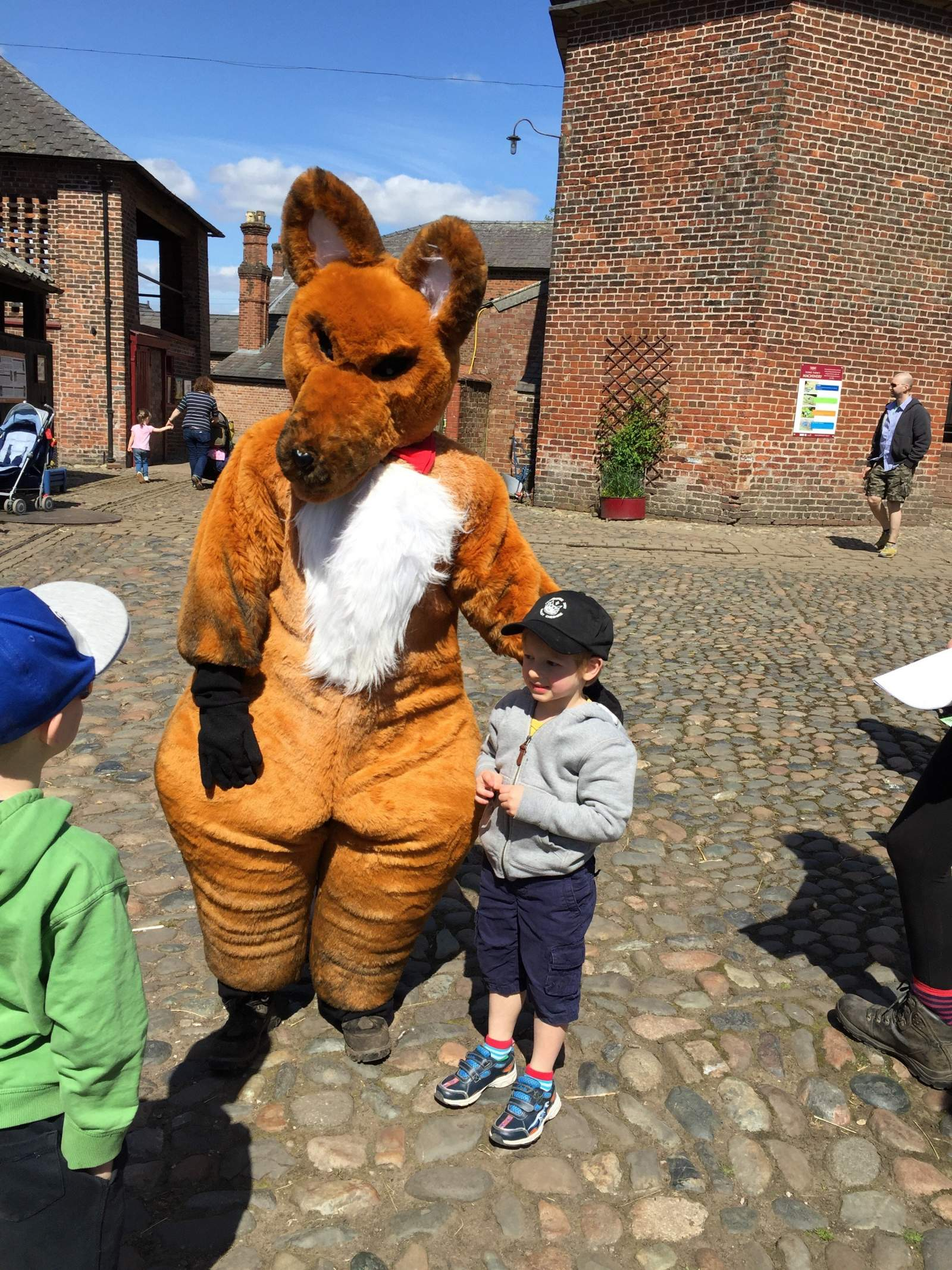 Fantastic mr Fox at Tatton Park as part of their role Dahl Centenary celebrations