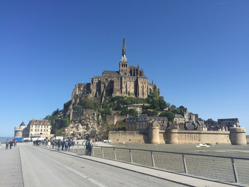 Exploring Mont Saint-Michel