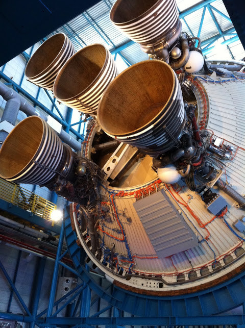 kennedy space center space ship places to visit with a baby in Florida