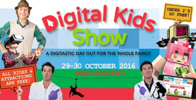 Win a family pass to The Digital Kids Show!