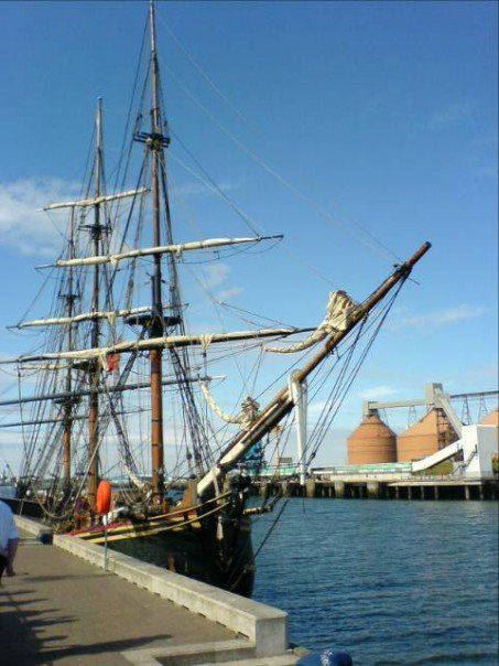 Tall Ships in Blyth, Northumberland