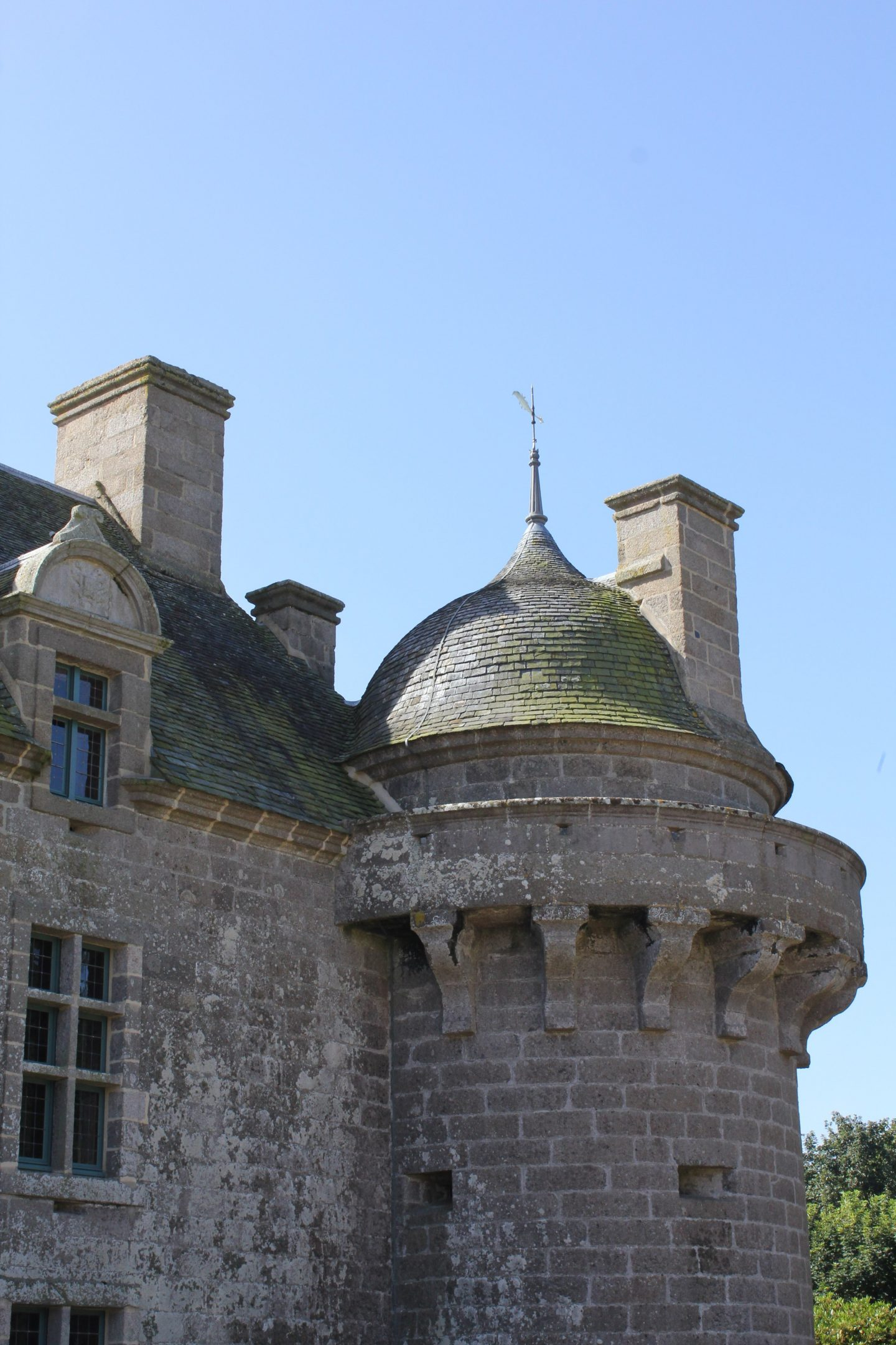 Why the Bretons sat up while sleeping and other tales at Château de Kergroadez, Brittany