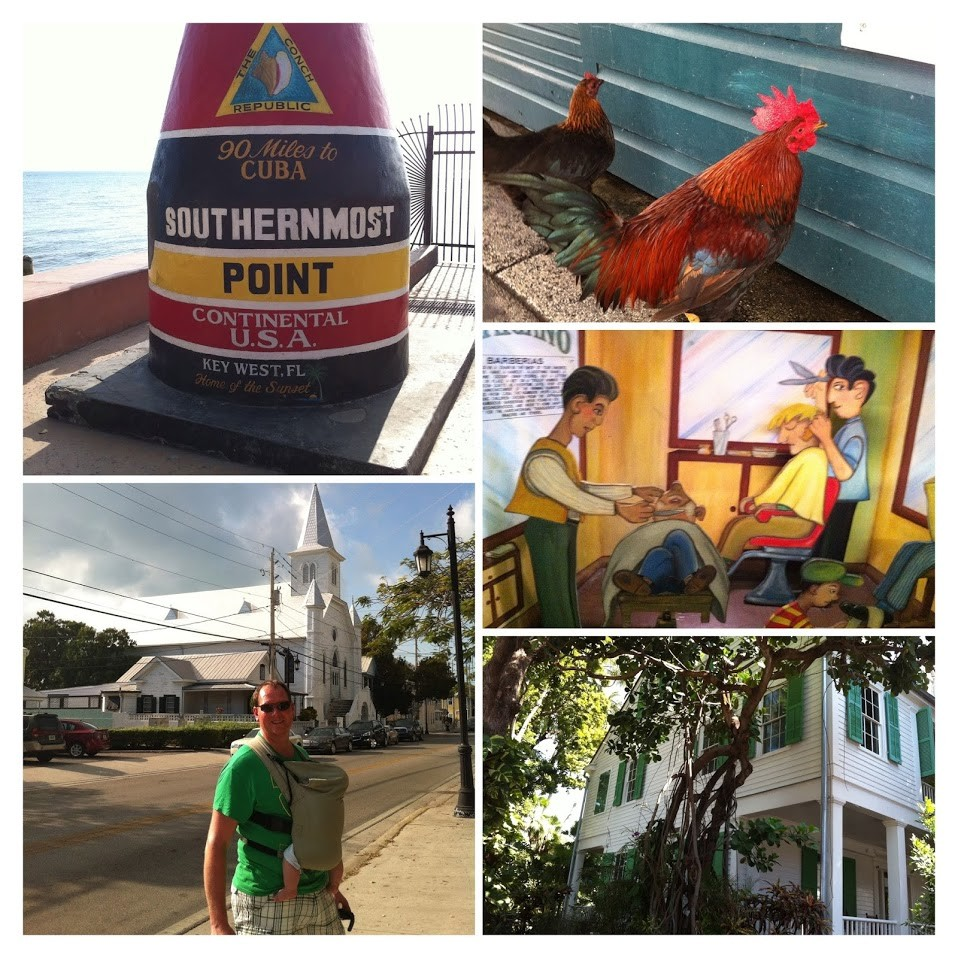 florida with a baby key west