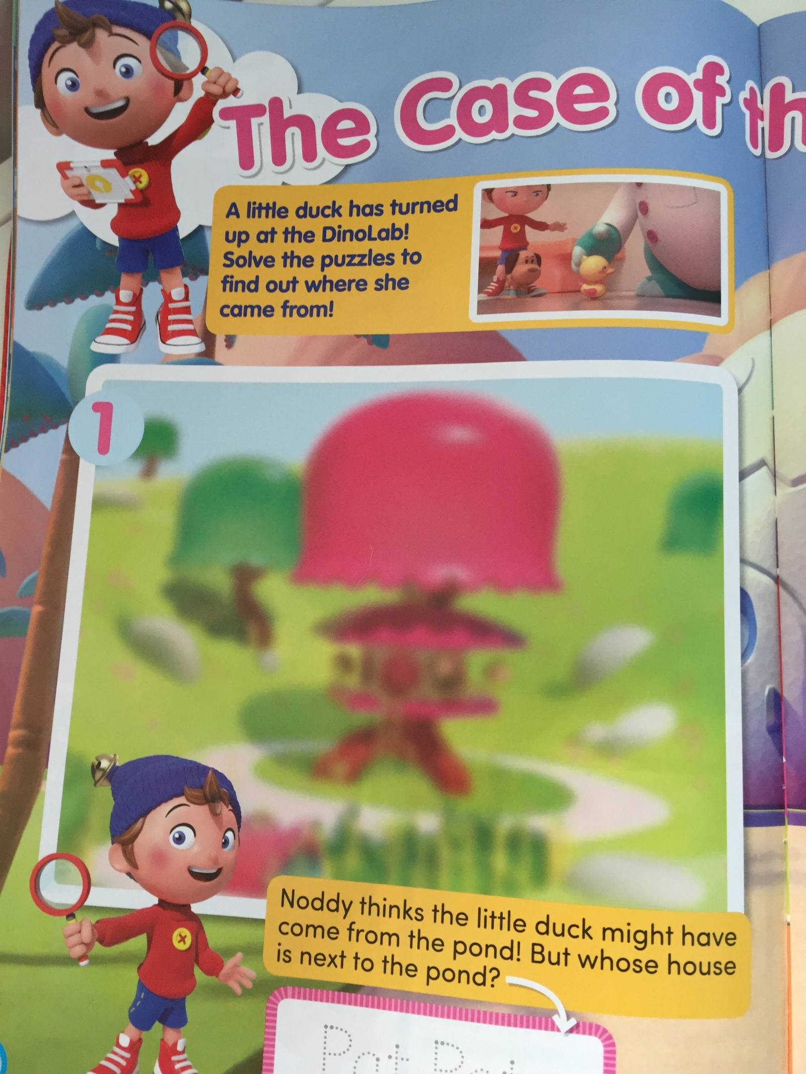 noddy magazine review - pat pat's house