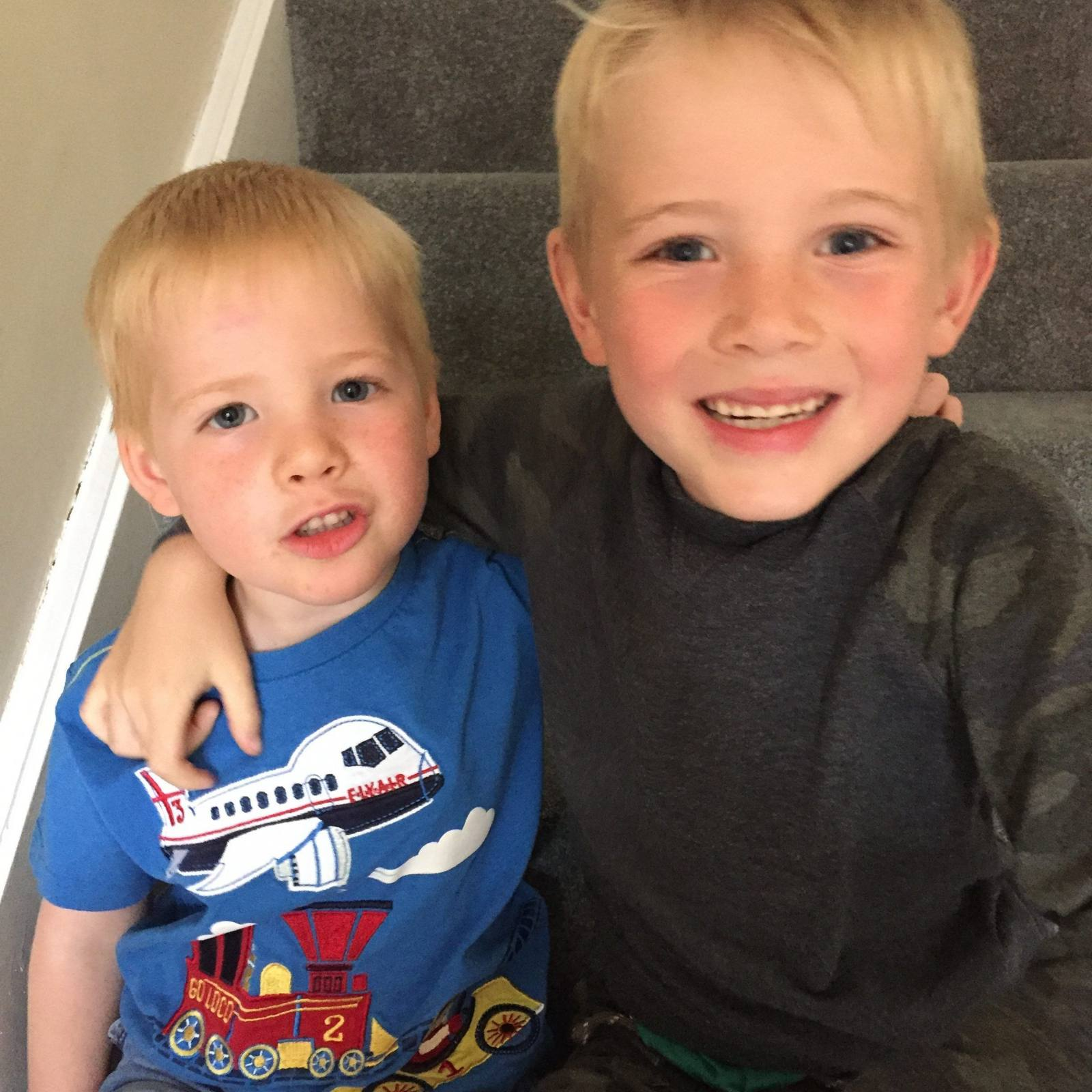 Why I share photos of my boys on Social Media