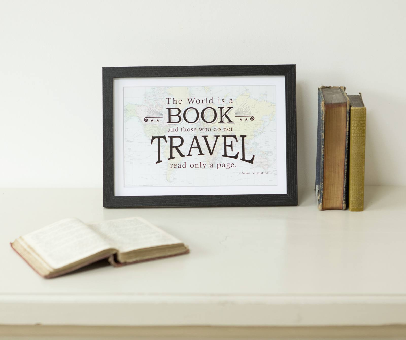 travel-quote-map-print