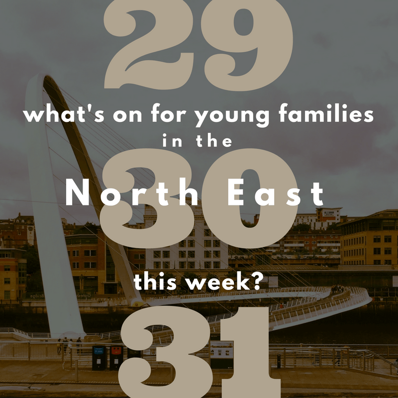 What's on for young children before New Year in Newcastle?
