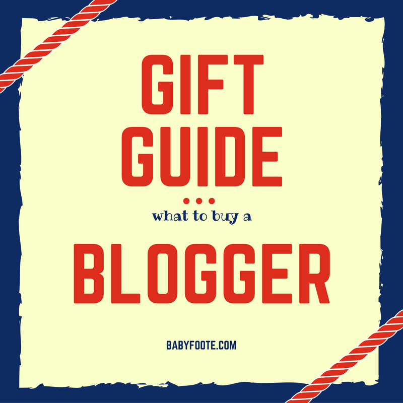 Gift guide: presents for a blogger