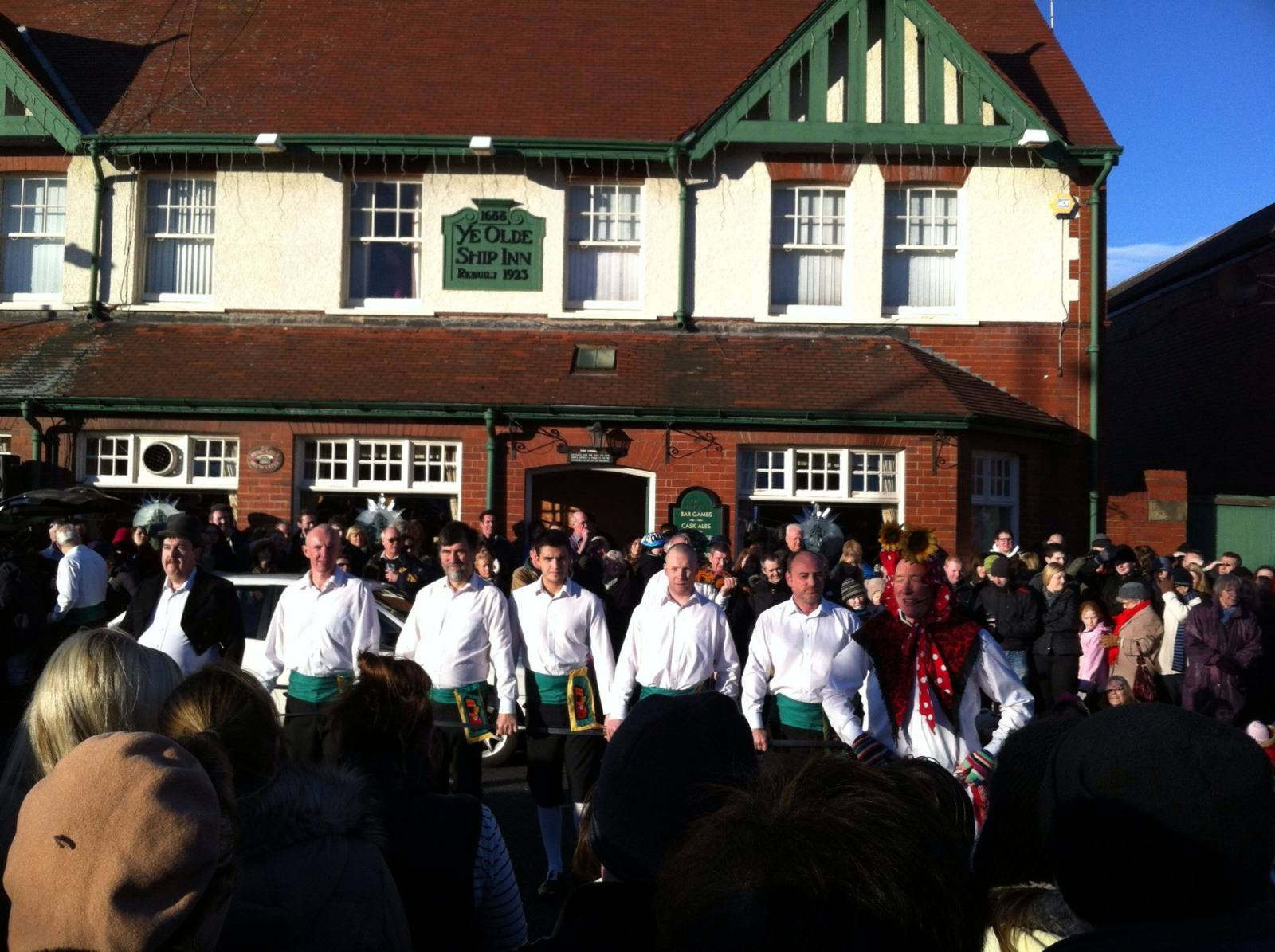 morris men monkseaton new years day ship inn
