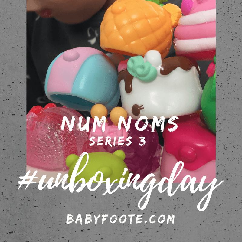Num Noms Series 3 #unboxingday and GIVEAWAY!