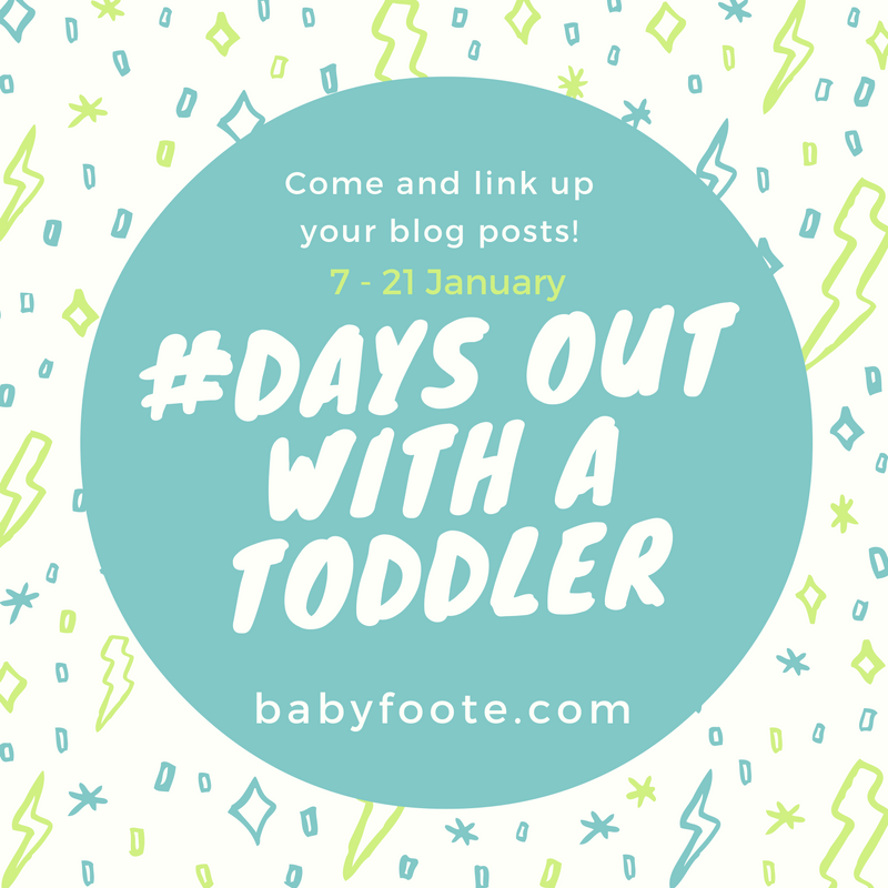 Days out with a toddler linky January
