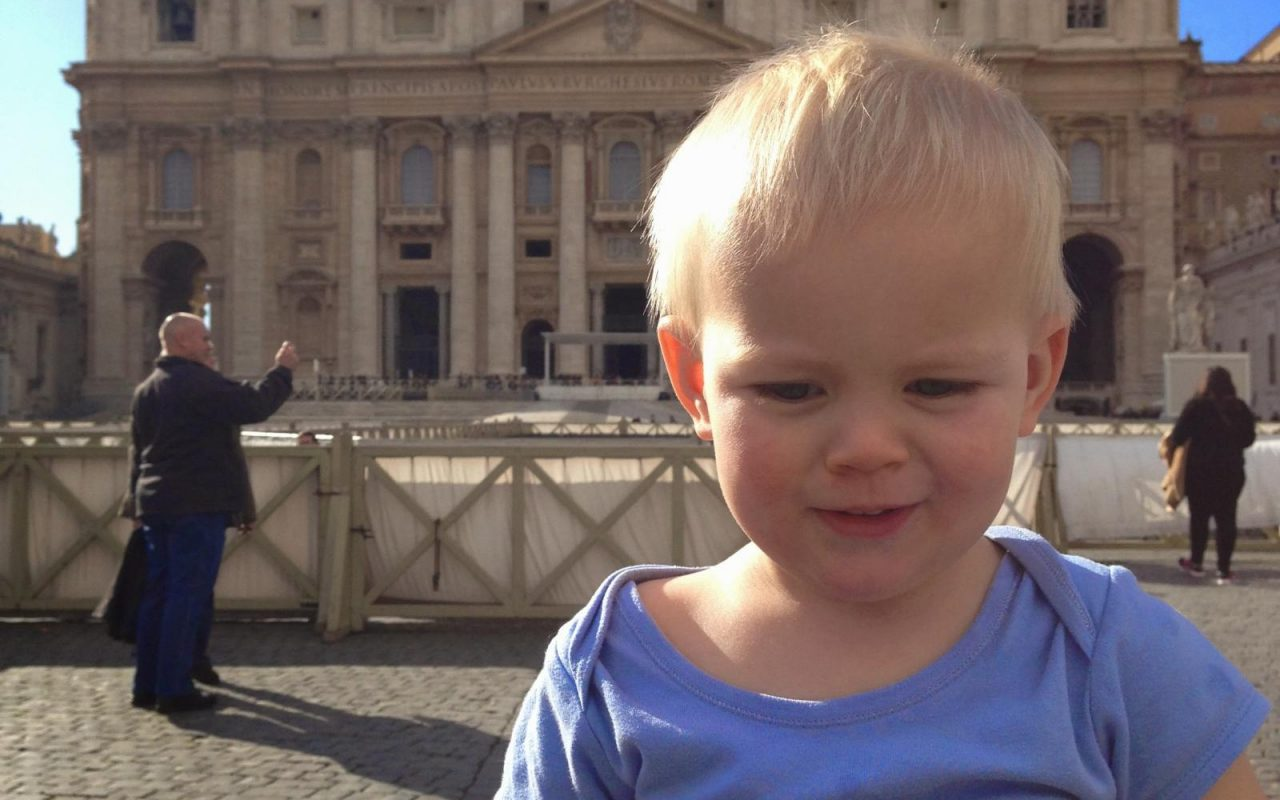 Rome with a toddler Vatican