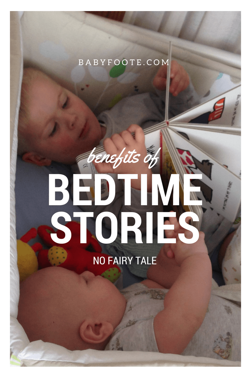The benefits of a bedtime story – no fairy tale!