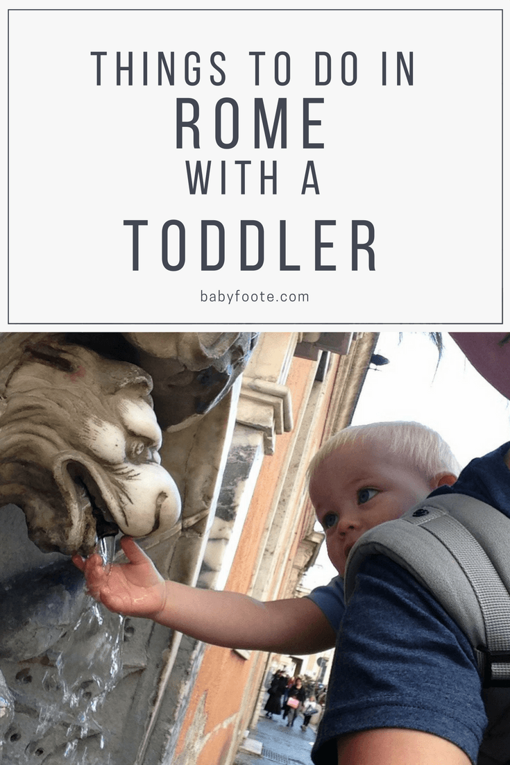 things to do in rome with a toddler