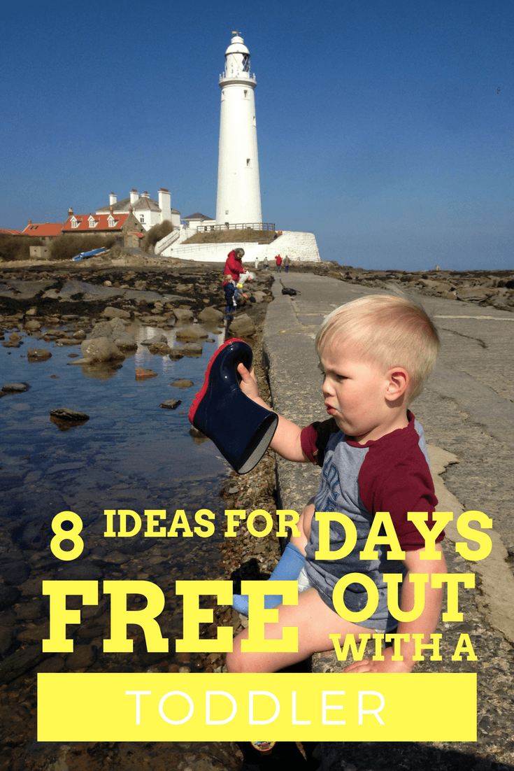8 ideas for FREE days out with a toddler you can probably do where you live!