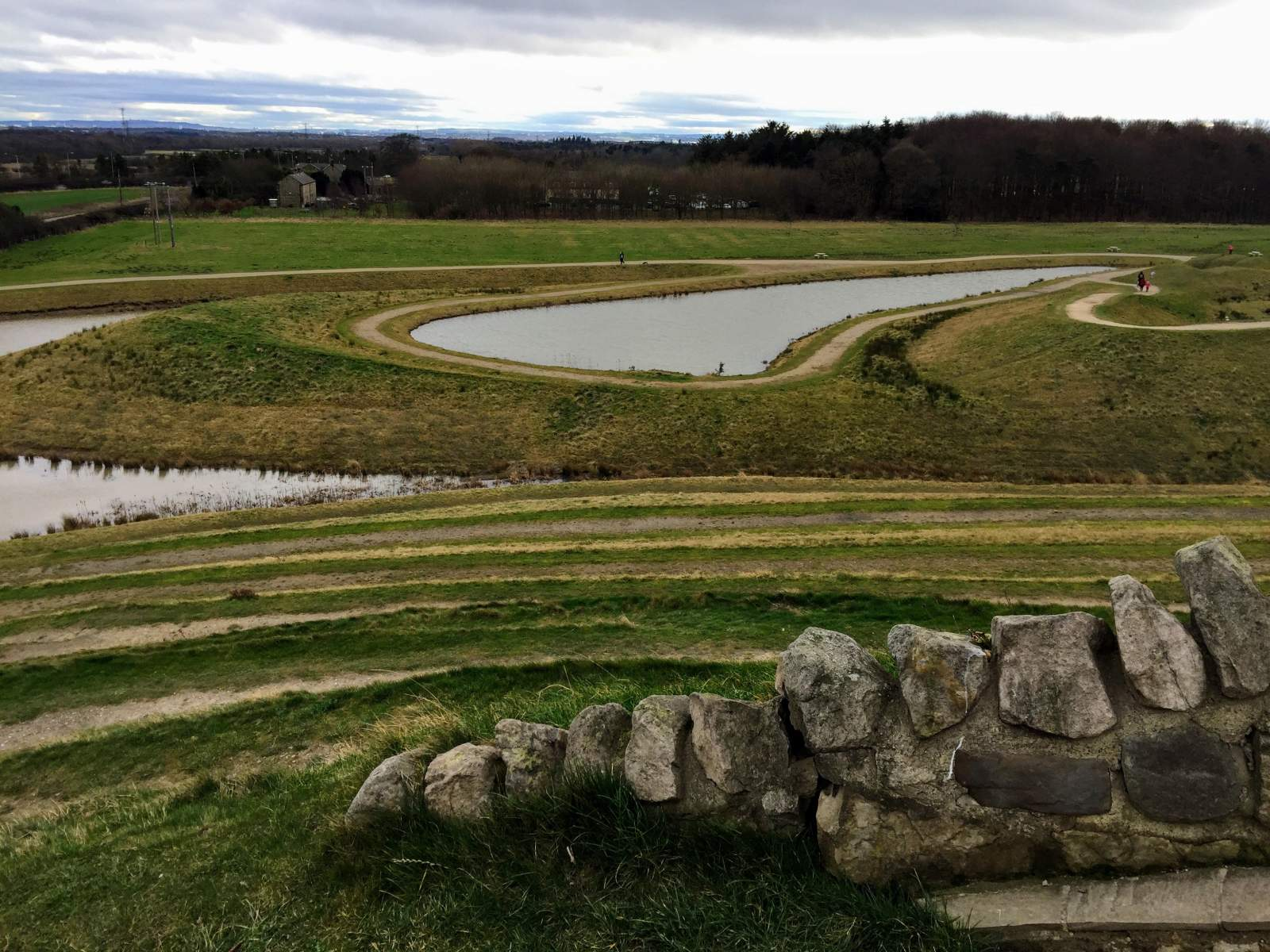 Northumberlandia family day out