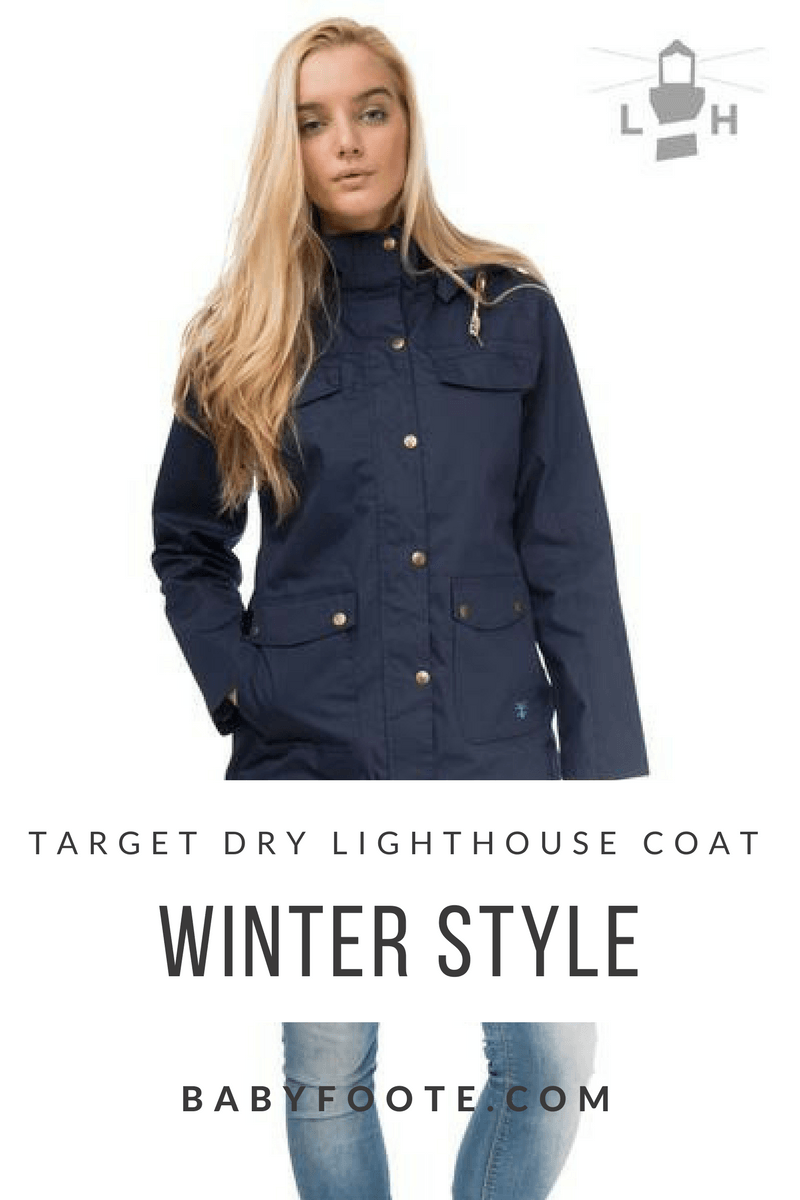 Styling a waterproof, bum covering, hard wearing yet stylish coat by Target Dry for winter