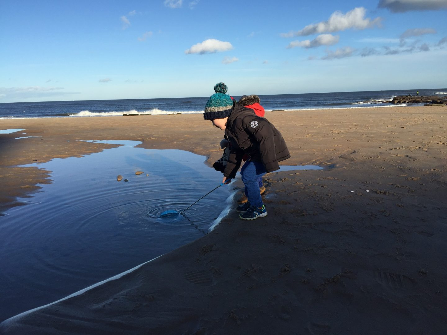 Splash! A cautionary tale of the perils of lone-parenting (or the day my son fell in the sea)
