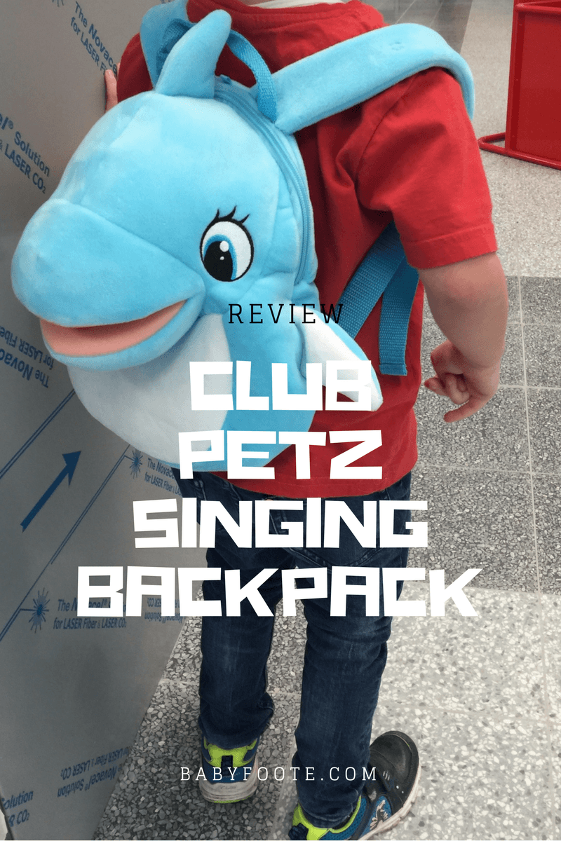 Club Petz Singing Backpack Review