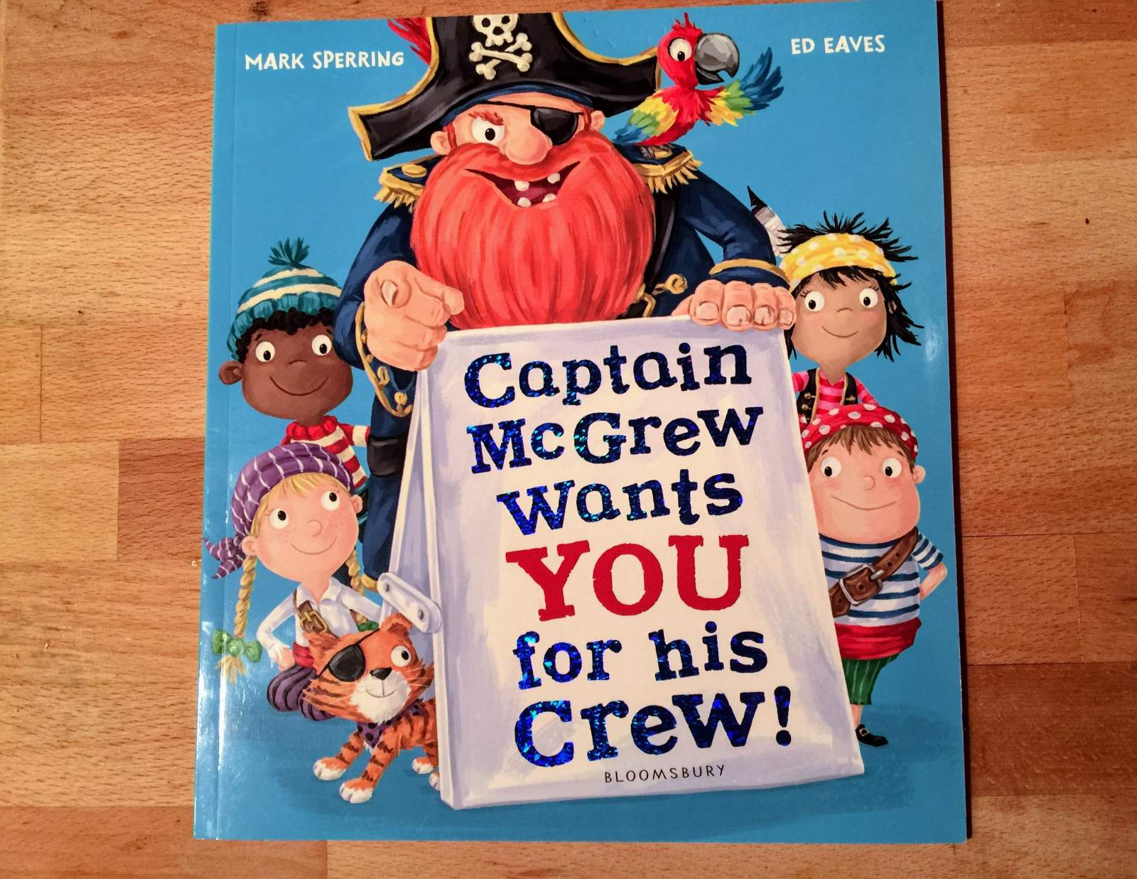 captain mcgrew wants you for his crew book review