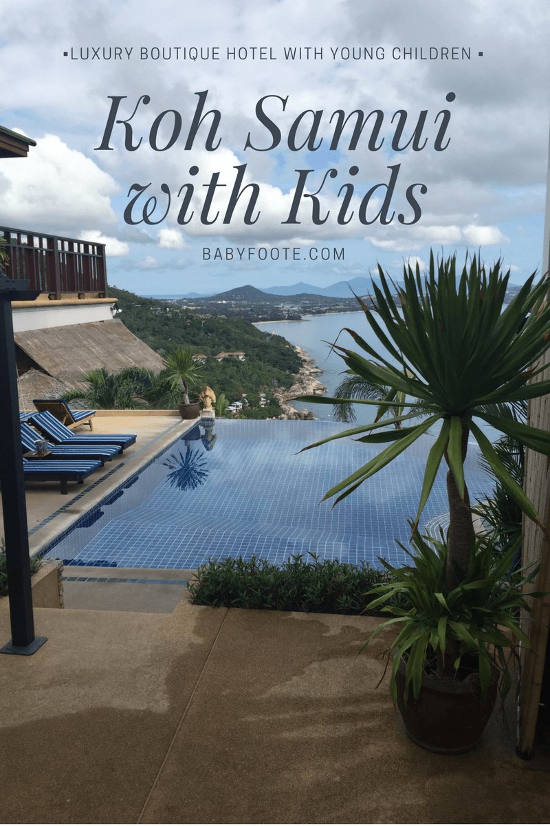 koh samui luxury boutique hotel with young children