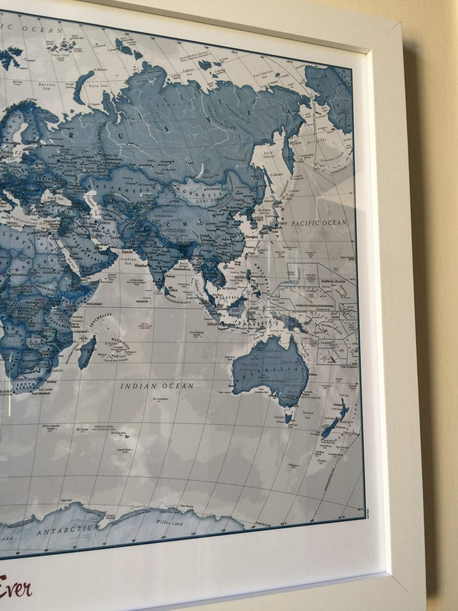 world map by maps international