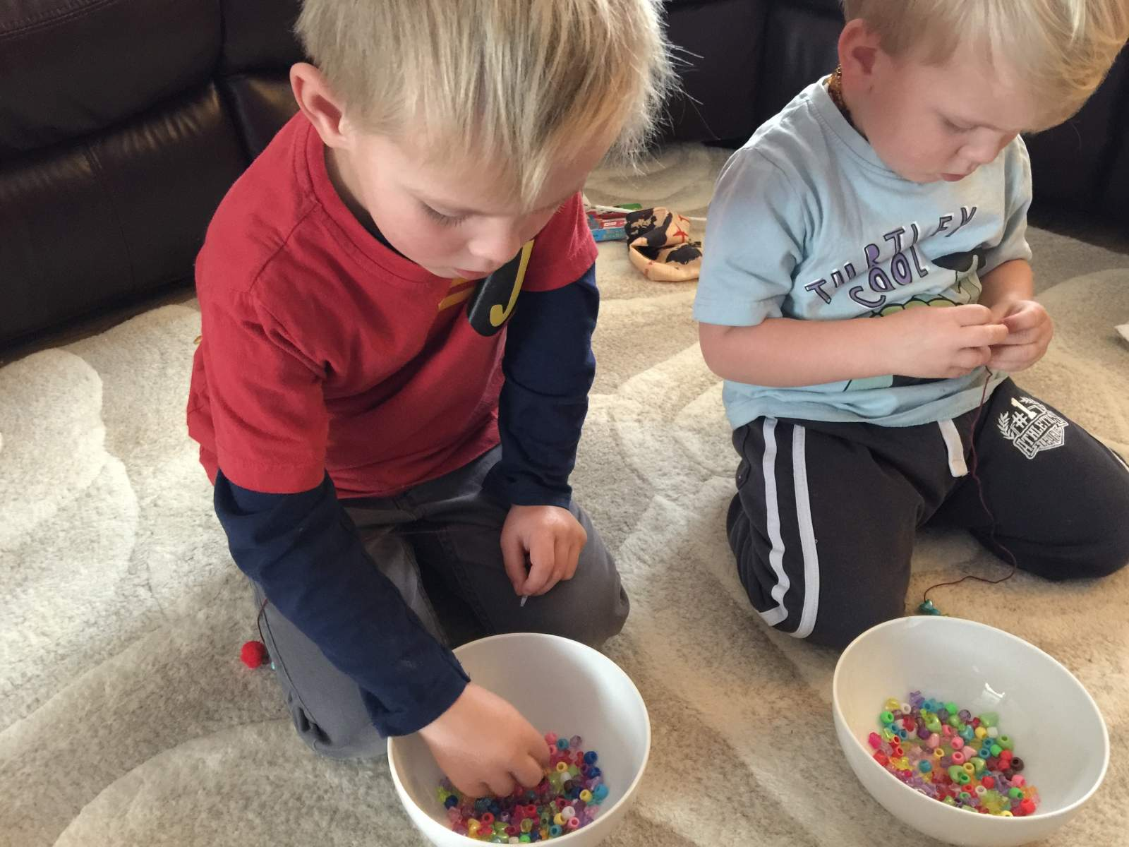 staying at home and crafting with under 5s