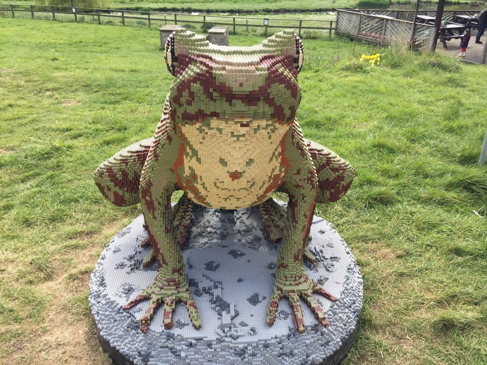 LEGO trail at Wildfowl and Wetland Trust
