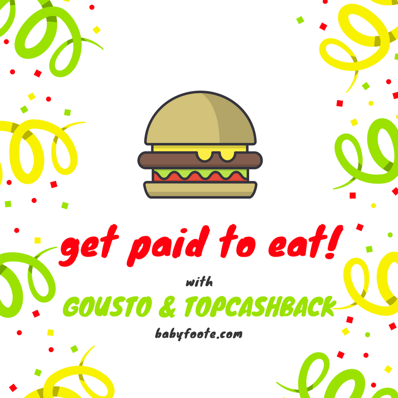 Get paid to eat with Gousto and Topcashback!