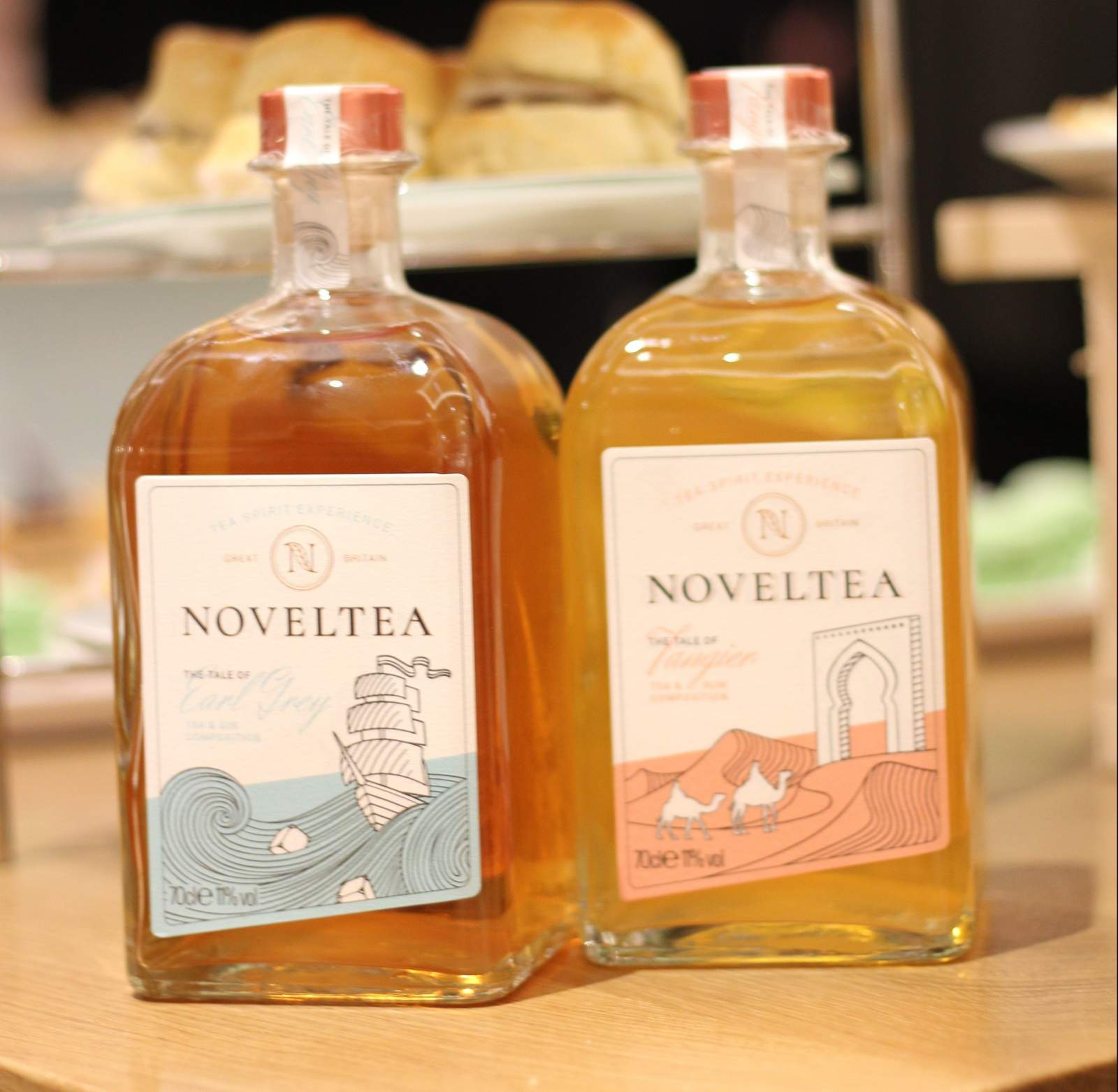 NOVELTEA launch in Fenwicks Newcastle