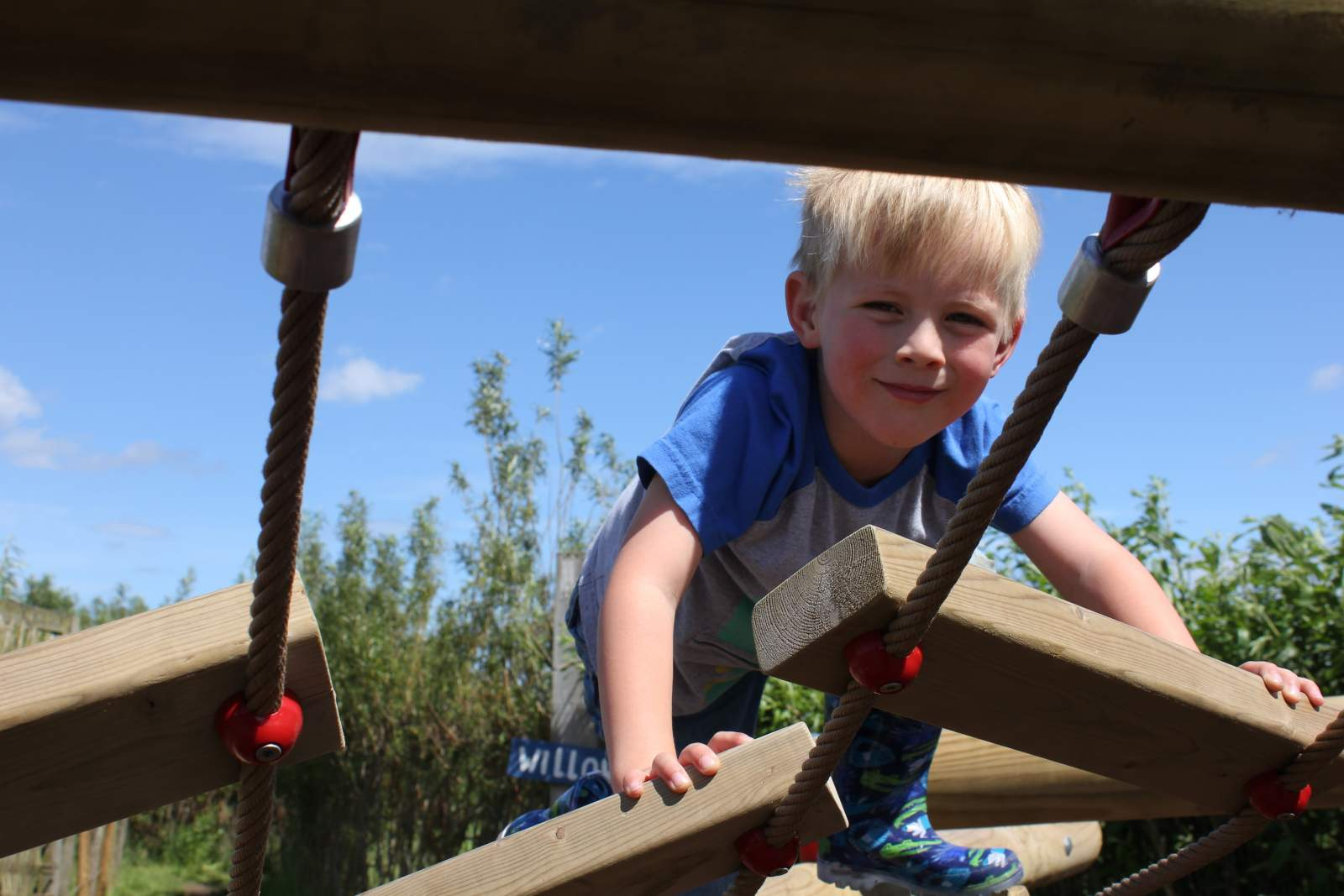 adventure playground at rspb saltholme