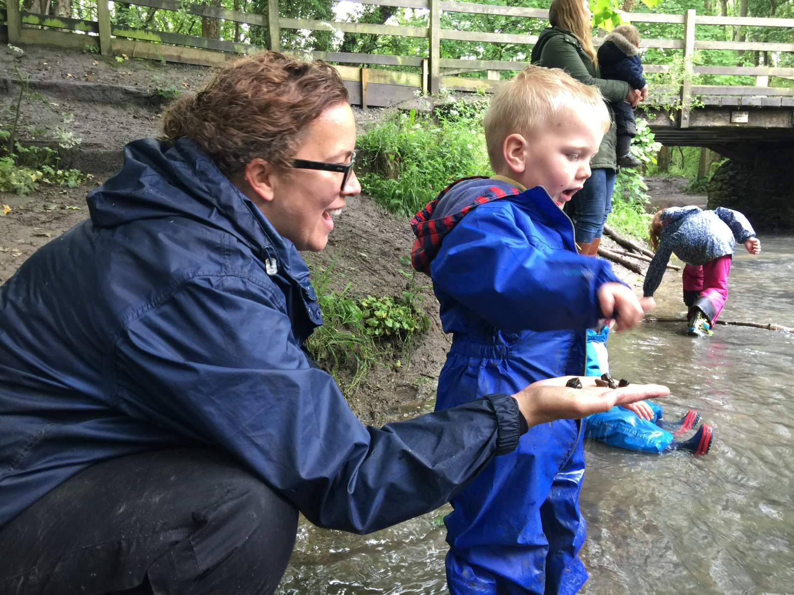 Footprints on the moon forest school northumberland