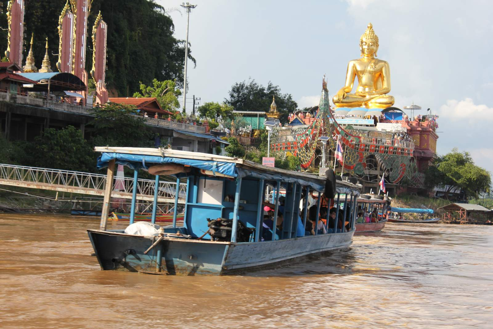 boat ride golden triangle thailand