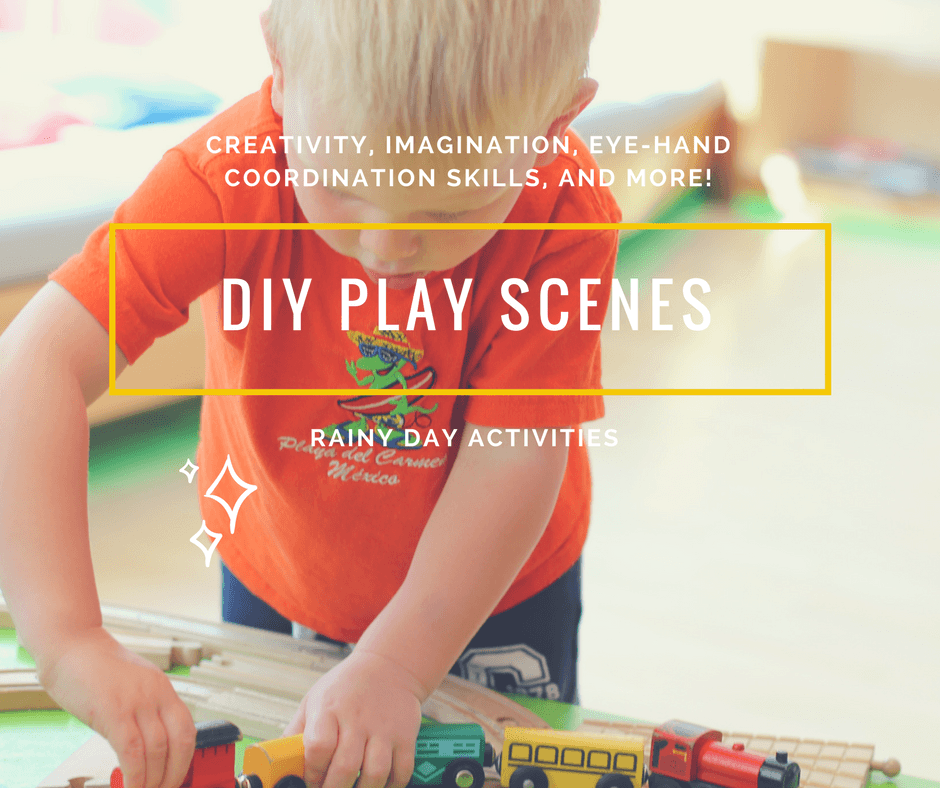 8 DIY play scenes for kids' imaginative role play